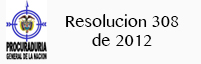 Resolucion 308